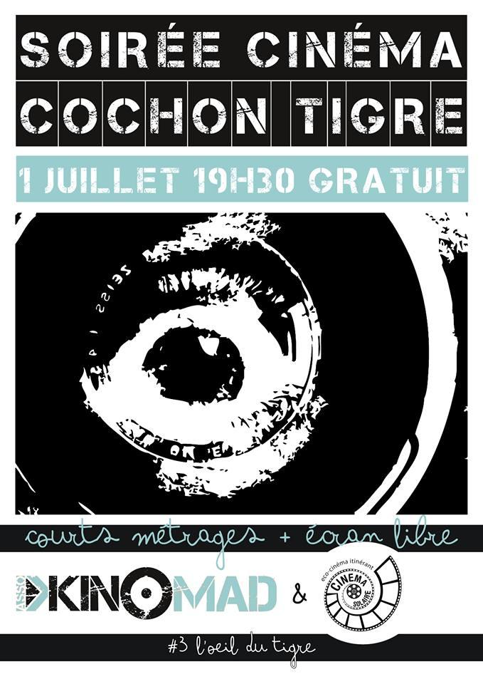 Affiche Cochon Tigre